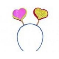 Уши фигурные сердце №2123.50