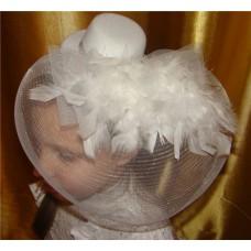 Украшение для волос Шляпка (крепление крокодильчики) №2.400