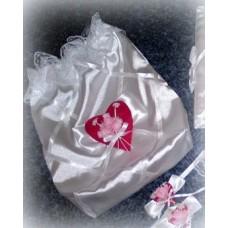 Мешочек для двух бутылок шампанского SvetikFantasy Цвет: белый №704.420