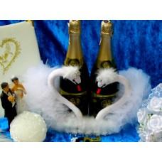 """Корзина """"Пара Лебедей"""" для шампанского №849.1500"""