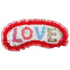 "Маска для сна ""LOVE"" (любовь)Размер: 1,5х20,5х9,5см №1762.52"