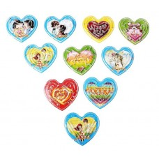 Головоломка сердечка в ассортименте 6х5х0,6см №377.4-50