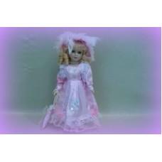 Кукла керамика 30см цвет: белый №84.381