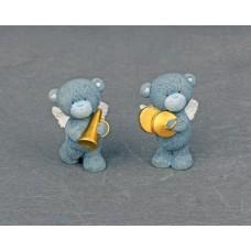 """Сувенир """"Мишка - ангелок"""" 2х3х4,5см Цена за 1 штуку №613.40"""