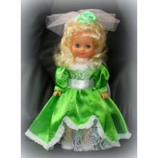 Кукла Невеста Прелесть в зеленом платье 40см SvetikFantasy №714.1470