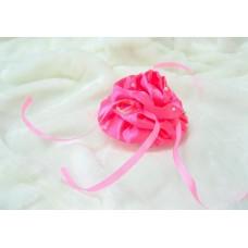 Подушечка для колец РОЗА розовая 9,0см №1747.70