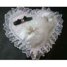 Подушечка для колец  Жених и Невеста SvetikFantasy №256.413