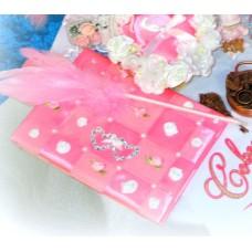 Альбом для пожеланий SvetikFantasy, А5, цвет: розовый №944.679