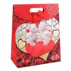 Коробочка для подарков Влюбленные мишки №47.35