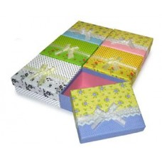 Коробка подарочная 5,5см х 14,5см х 11,5см цвета в ассортименте №2093.42