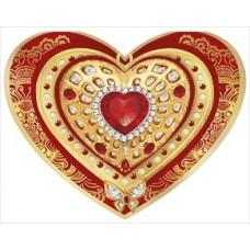 Открытка Сердце  Размер:123x184мм №677.19