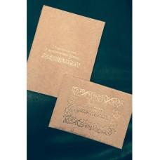 Набор Папка для свидетельства о браке и книга для пожеланий  Ткань Размер А4 и А5 Цвет:бежевый №570.590