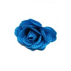 "Роза ""ситцевая"" синяя (12 см) №1423.20"