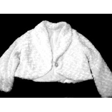 Свадебная шубка цвет: белый размер:48-50  №10.1500