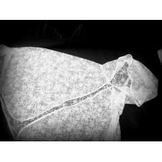 Накидка для венчания белая кружево-стрейч  SvetikFantasy Размер: 44-54 №303.725