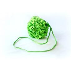 Сумочка Розочка Размер: 20 см Цвет: салатовая №1734.125