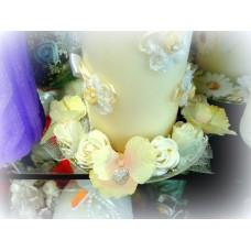 Подсвечник Цветы SvetikFantasy D12см; для свечей диаметром от 3 до 10см №1611.282 (без свечи)
