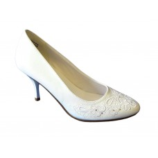 Туфли, Vigorous кожа искусственная цвет: белый №1480.1080